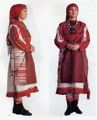 Удмуртский народный костюм женский доставка