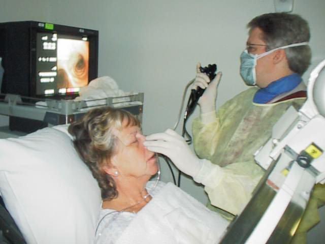 как делают бронхоскопию легких