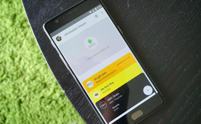 Работает ли Android Pay?