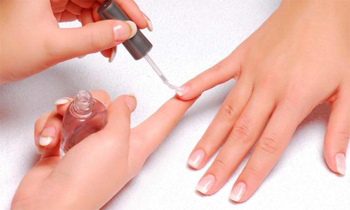 ногти после снятия гель лака