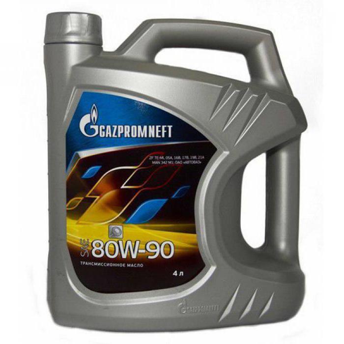 масло газпромнефть 80w90 отзывы