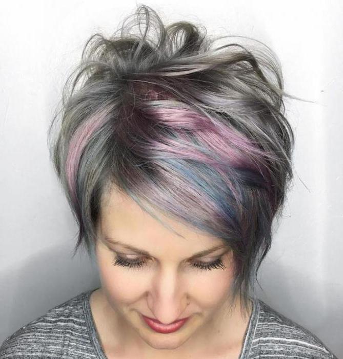 Мелирование и седые волосы