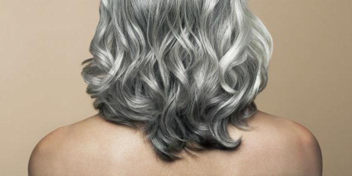 как окрасить волосы в серебряный цвет