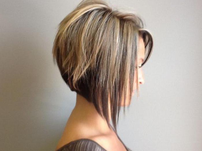 удлиненное каре на длинные волосы без челки