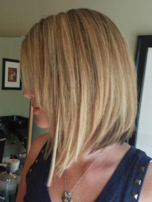 спереди каре сзади длинные волосы