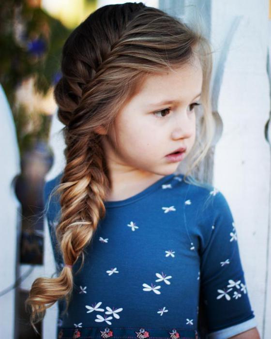 красивое плетение кос для девочек