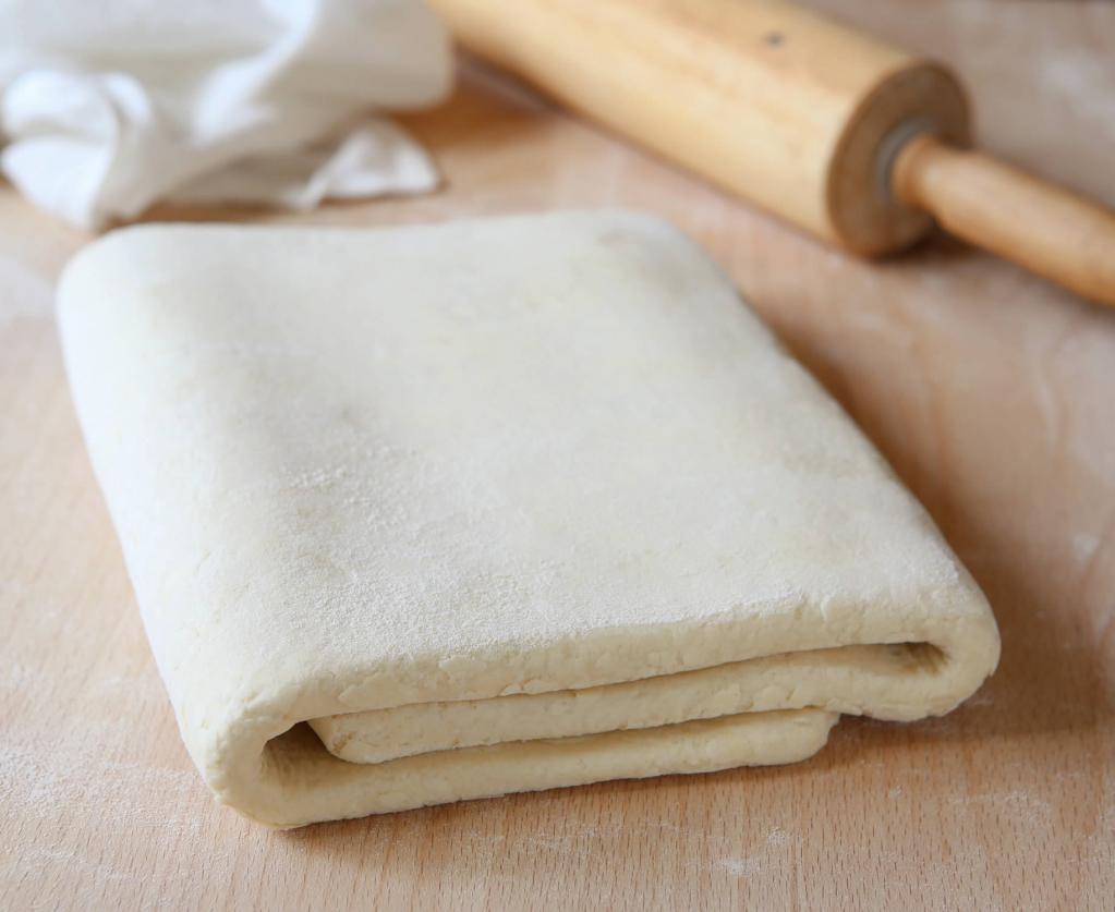 как сделать тесто слоеным