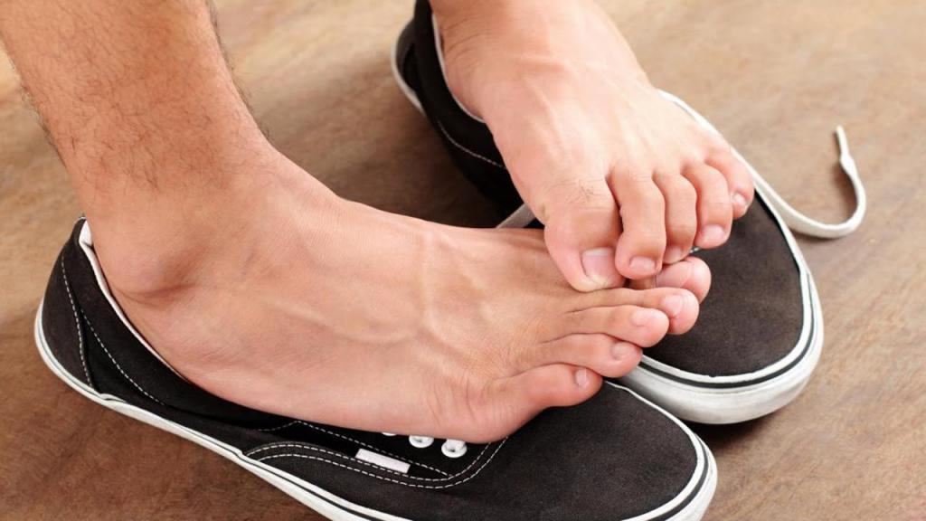 как избавить ноги от запаха