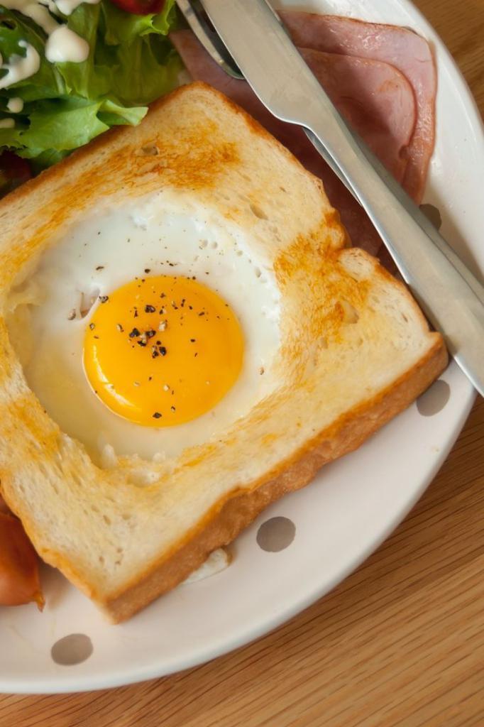 Рецепты яичницы на завтрак с фото