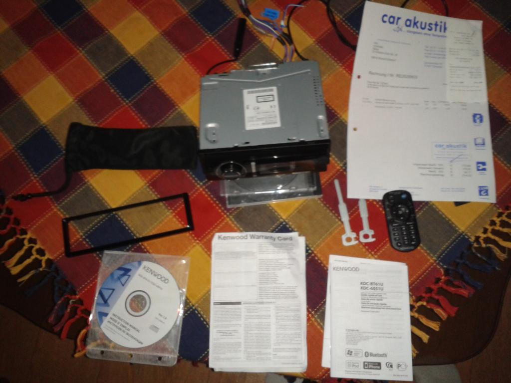 Kenwood KDC-6051U: инструкция, отзывы, обзор