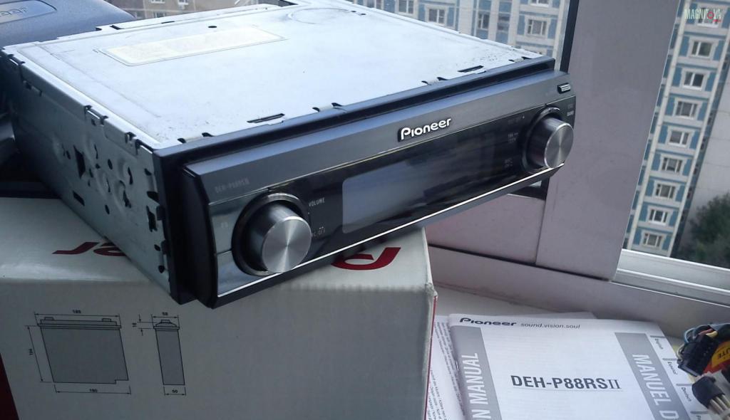 Pioneer 88rs с коробкой