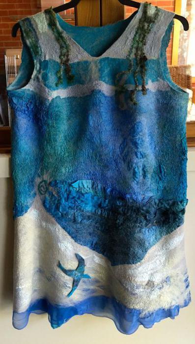 вяляние из шерсти для начинающих одежда