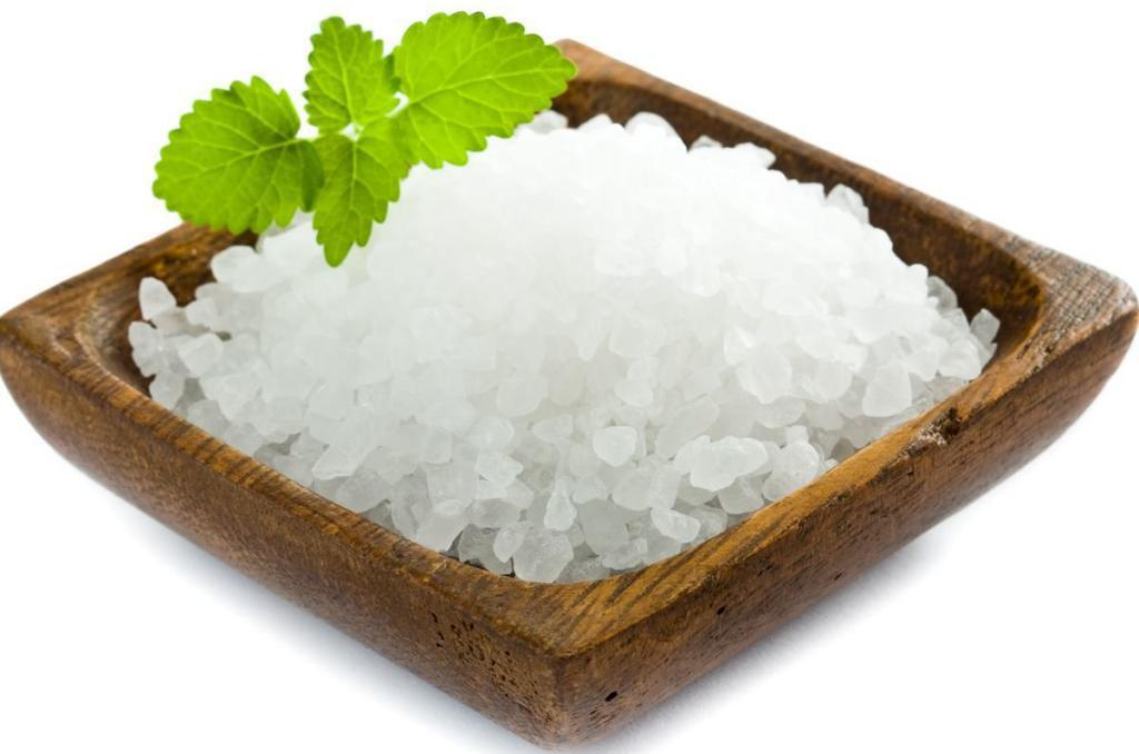 salt from the sea