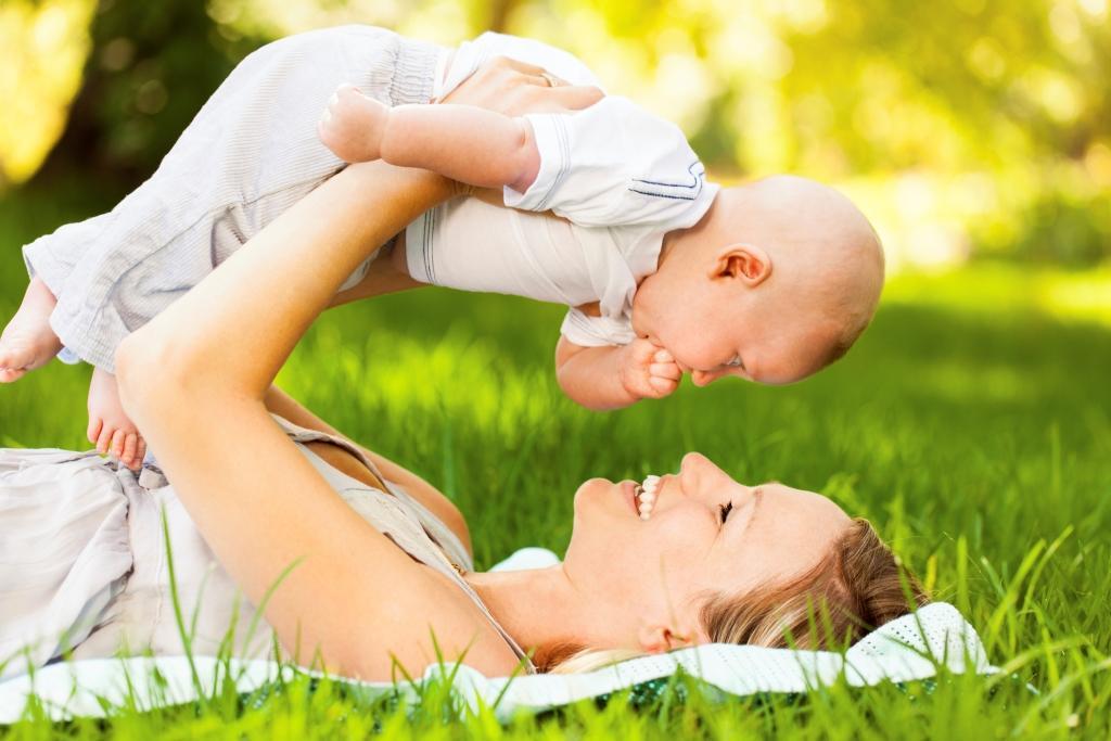 Картинки молодой мамы с малышом