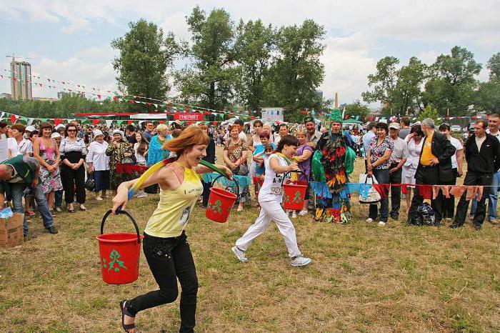 народный праздник сабантуй