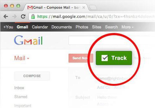 Как узнать, прочитано ли письмо электронной почты гугл?