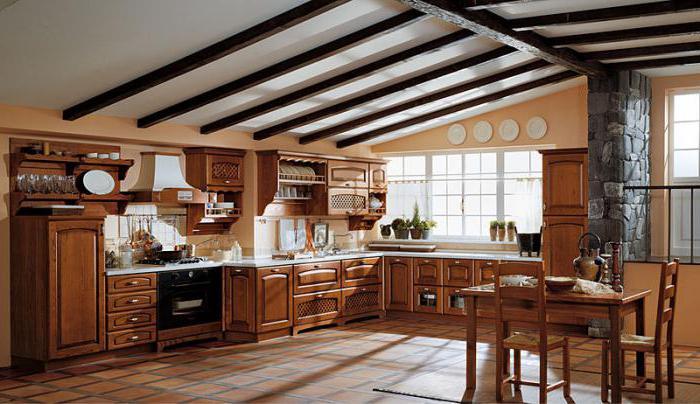 описание кухни