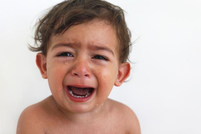 Ребенок бьется головой об пол когда психует