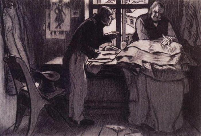 история создания повести Шинель Гоголь