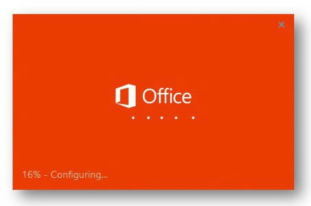 click to run office 2010