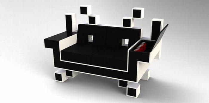 необычные модели диванов