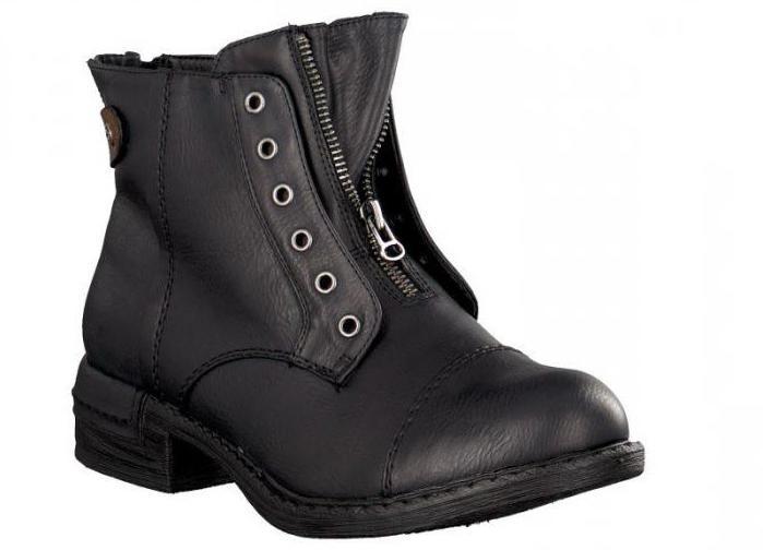 обувь rieker сапоги