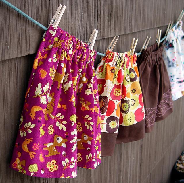 Выкройка детской юбки - шьём самостоятельно