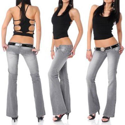 как подобрать джинсы по фигуре женщине яблоко