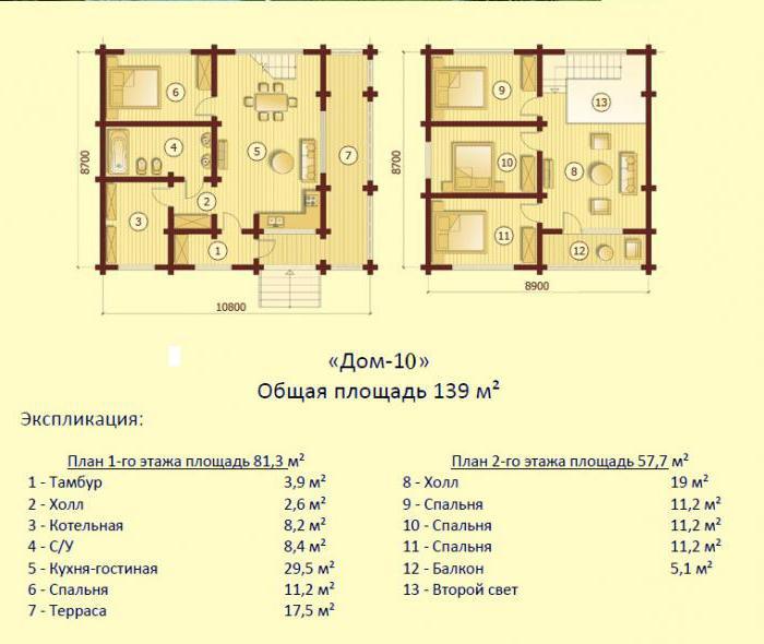 Изображение - Поэтажный план и экспликация для квартиры 2110691