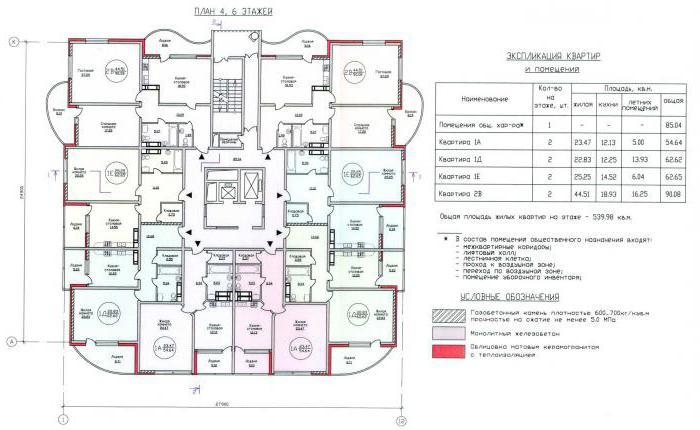 Изображение - Поэтажный план и экспликация для квартиры 2110696