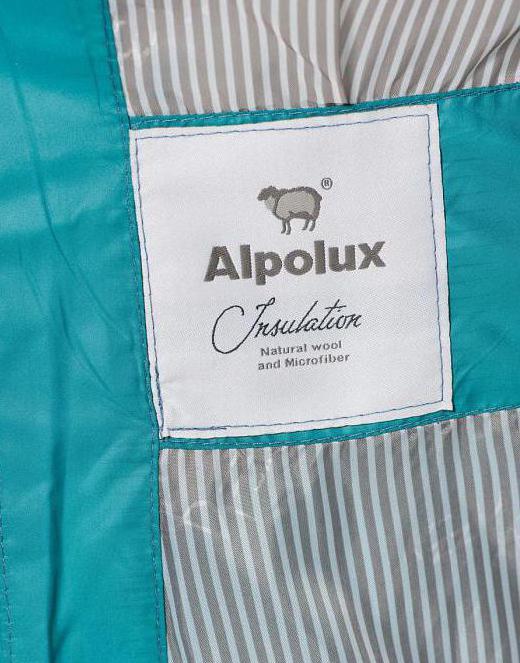 альполюкс утеплитель для одежды