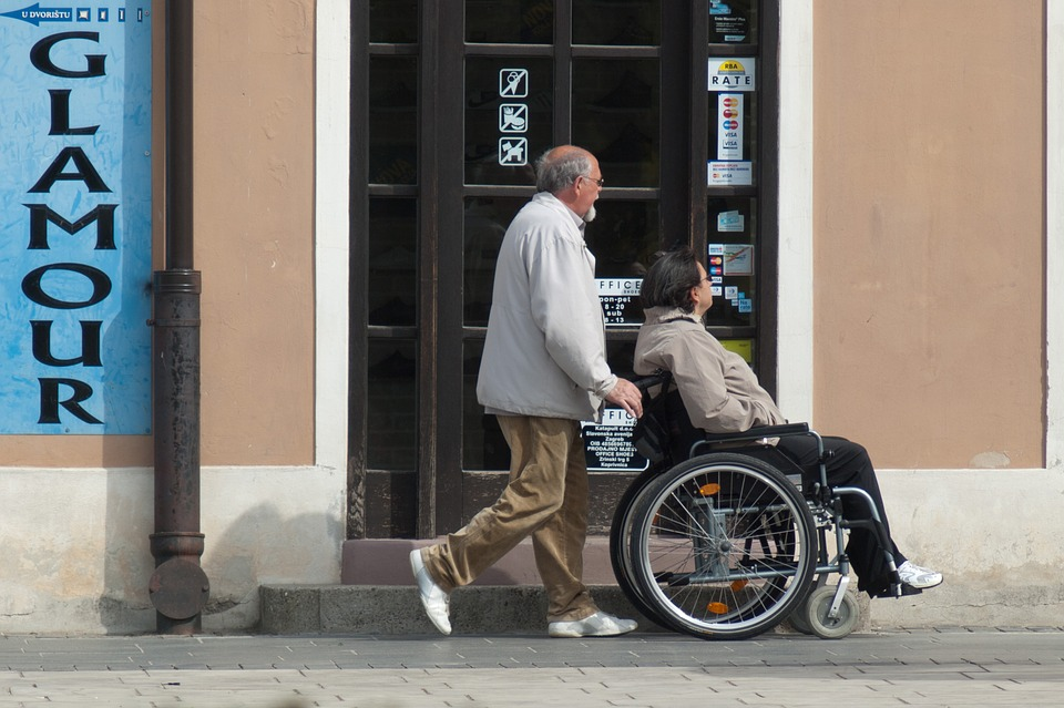 Социальный уход за инвалидом