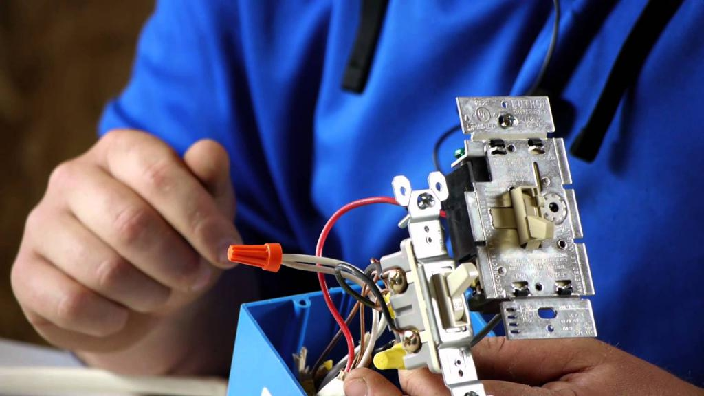 DIY wiring replacement in Khrushchev