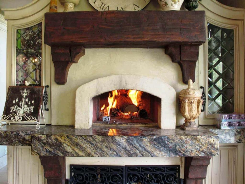 каменная печь для дачи