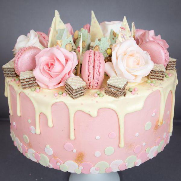 Фото торта для девушки 30 лет