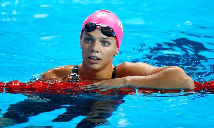 плавание Юлия Ефимова