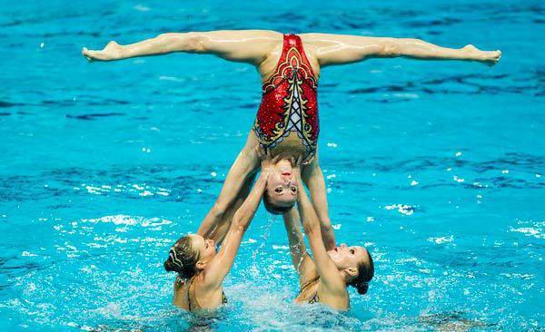 гелена топилина синхронное плавание фото