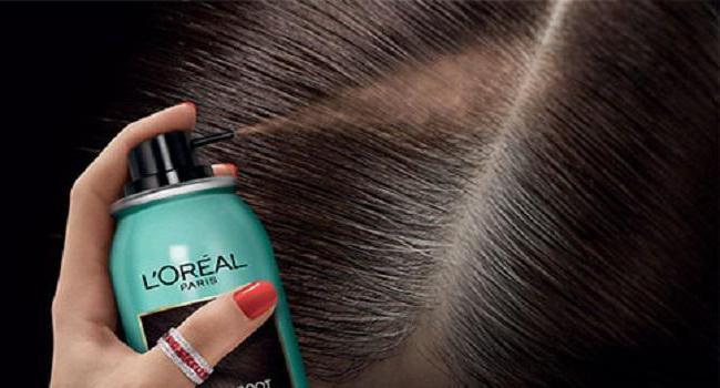 спрей для закрашивания корней волос