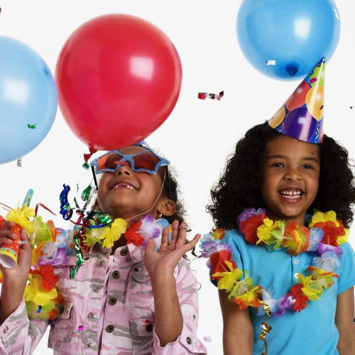 день рождения девочки 6 лет сценарий на улице