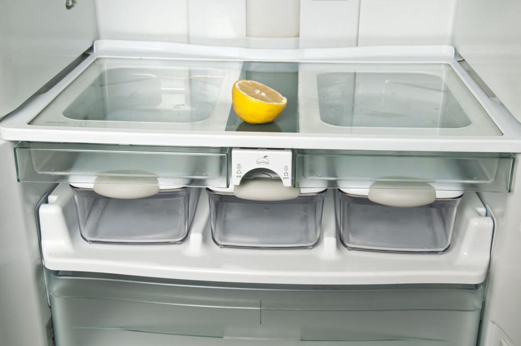 Refrigerator odor control products