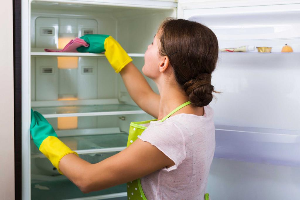 How to wash the refrigerator to get rid of the smell