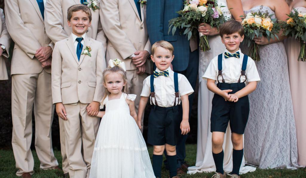 Свадебные конкурсы для детей