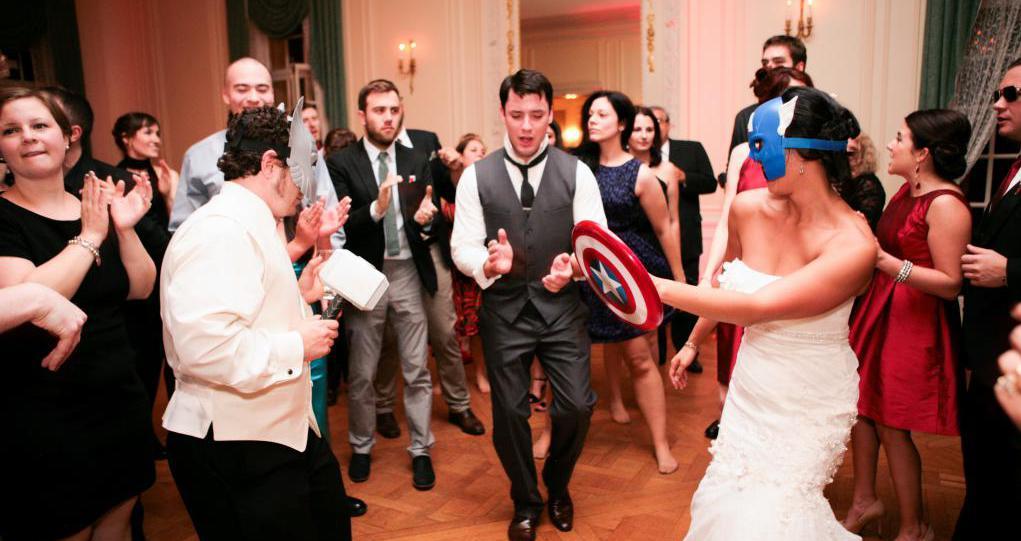 Парные конкурсы на свадьбу