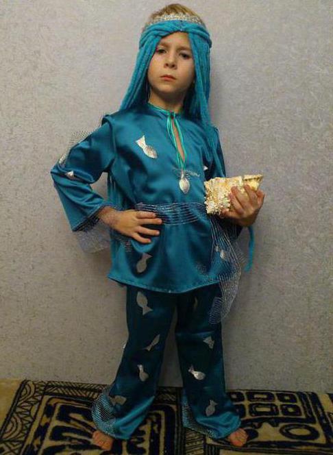костюм водяного своими руками