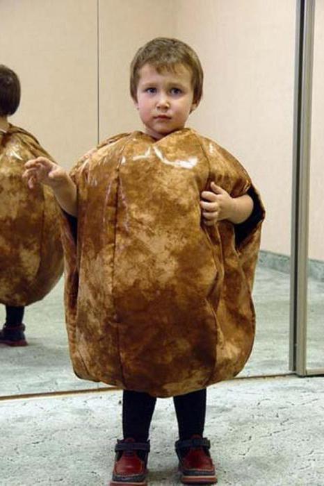 костюм картошки своими руками