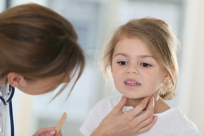ребенок 9 лет очень часто болит горло