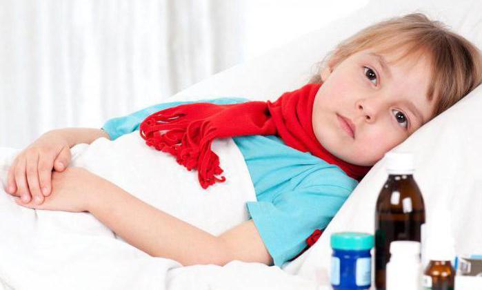 часто болит горло причины у ребенка