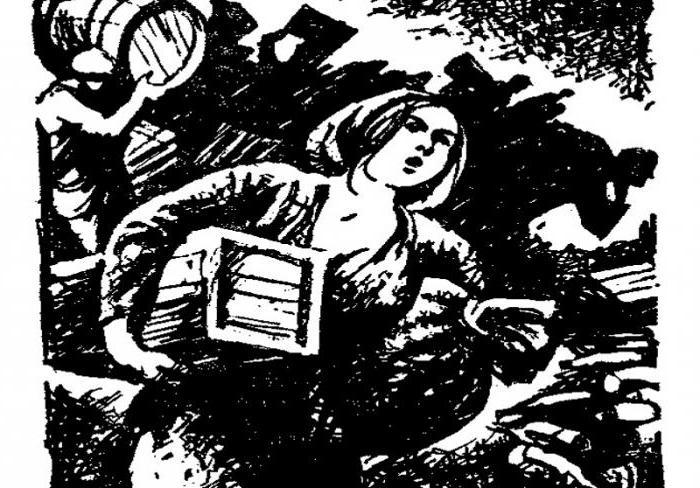 «Гандлярка и поэт», краткое содержание