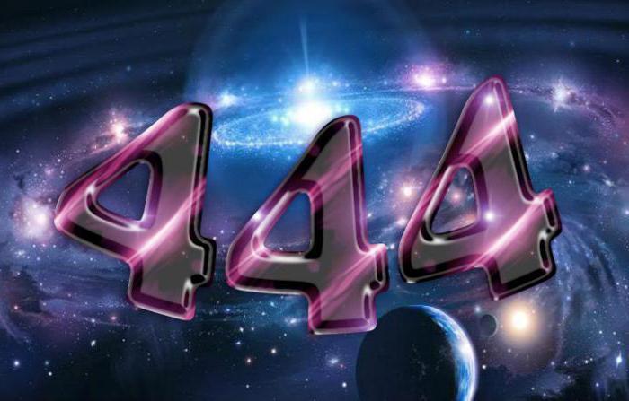 Число 444: значение и свойство