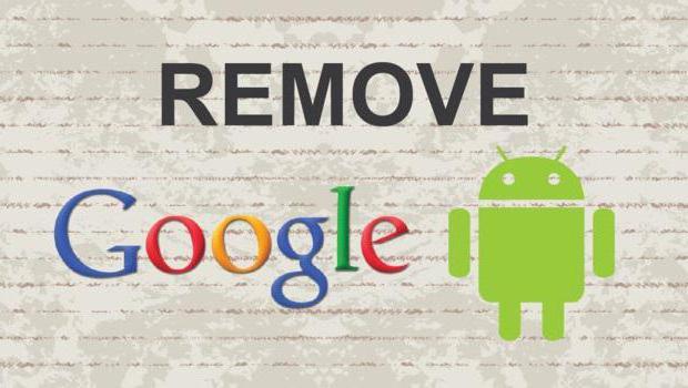 как отвязать телефон от аккаунта google